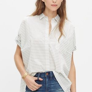 Madewell Mixed-Grid Button Down
